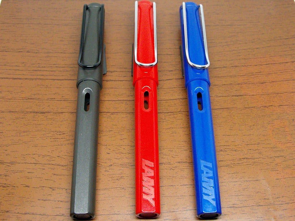 3-Lamy-Safari-Fountain-Pens